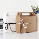 European Large Kraft Paper Gift Boxes Gift Candy Box