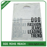 Costomized LDPE Shopping Bag Plastic Die Cut Gift Handbag