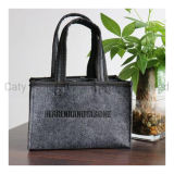 Fashion Strong Polyester Felt Embroidery 6 Beer Bottle Wine Tote Bag (FM026)