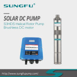3inch 12/24/36/48V Brushless DC Motor, Solar Powered Water Pumping Systems, Cast Stainless Steel 304/316L, Helical Rotor Submersible Pump with MPPT Controller