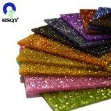 3mm Laser Cutting Colorful Glitter Cast Acrylic Sheet
