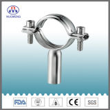 Sanitary Stainless Steel Round Pipe Hanger with Pipe (TH7H welded)
