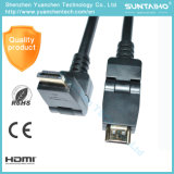 Wholesale OEM 90 Degree Rotation 1080P HDMI Cable