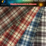 Spots Goods, Polyester Check Textile Fabric for Garment (X021-24)