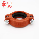 Pipe Fitting for Aboveground Fire Control Systems Rubber Gasketed Rigid Coupling
