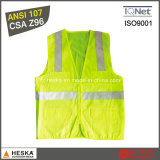 Popular High Visibility Road Safety Wear Security Vest