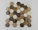 Hot Selling Competitive Price Colored Hexagon Marble Mosaic Tile for Wall Decoration