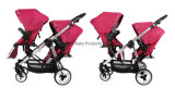 Fold Twin Double Infant Toddler Stroller Tandem Double Stroller