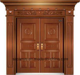 High Quality Handmade Bronze Door with Son and Modern Design