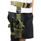 Military Tactical Police Pistol Holster, Tactical Shooting Drop Leg Holster, Pistol Gun Holster