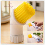 Wholesale Plastic PP Water Spray Kitchen Cleaning Brush (3*10cm)