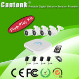 Easy Install Power Line Communication CCTV NVR Kit (PG420)