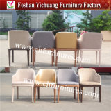Modern Armrest Metal Symphony Dining Chair for Hotel and Banquet and Restaurant (YC-F132)