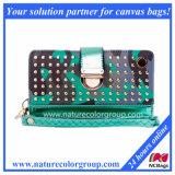 Fashion Lady PU Leather Handbag and Wallet (WP-004)