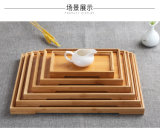 Bamboo Tray and Bamboo Waiter Plate for Kitchenware and Salvor From Factory Cheap Price