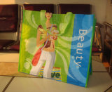PP Non-Woven Laminated Shopping Bags for Garments (FLN-9046)