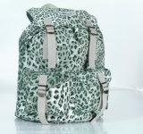 Casual Leopard School Backpack with Laptop Compartment