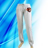 100% Cotton Lady's Lounge Pants with Screen Print