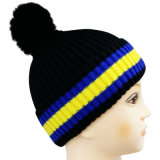 Knitted Beanie with Knitted in Logo NTD1643