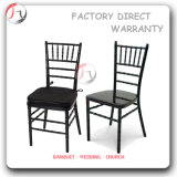 Black Dining Chiavari Chair with Movable Cushions (AT-32)