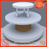 Trade Show Exhibition 3 Tier Shoe Display Table for Shop