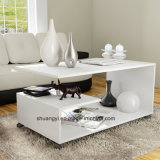 Living Room Furniture Modern Design White Coffee Table