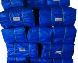Finished Blue HDPE Tarp, PE Tarpaulin