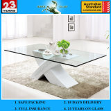 3-19mm Tempered Glass Rectangular Table with AS/NZS 2208