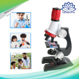 Microscope Kit Lab Home School Science Educational Kids Toy Gift Refined Biological Microscope for Children