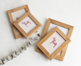 Love Birthday Collage Multi Double Custom Bamboo Wooden Photo Frame