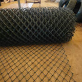 Iron Wire Chain Link Fence PE Coating