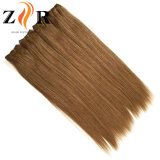 Brown Color Double Drawn Chinese Hair Remy Hair Human Hair Weft