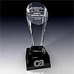 Crystal Trophy Award, Crystal Souvenir (JD-JB-007)