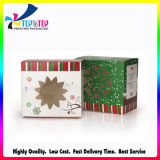 Custom Cheap Christmas Gift Paper Packaging Folding Window Box Wholesale