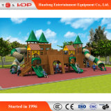 Commercial Outdoor Wooden Funny Children Playground Slide (HD-MZ035)