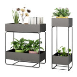 Outdoor and Indoor Decoration Plant Holder Modern Metal Flower Stand