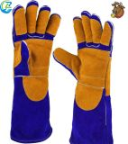 Good Quality Fire Fighting Genuine Leather Welding Gloves