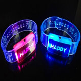 Light up Silicone Wrist Bands Imprint with Logo