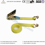 En12195 Ratchet Tie Down Straps for Cargo Lashing