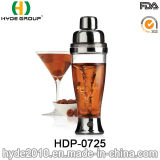 BPA Free Plastic Automatic Cocktail Vortex Shaker Bottle (HDP-0725)