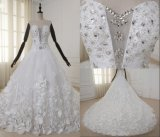 High Quality Luxury Beaded Ball Long Tail Wedding Dresses