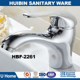 Brush Polished Ceramic Cartridge Zinc Handle Copper Bathroom Mixer with Match Bathtub