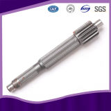 Stainless Steel Pinion Spline Gear Shaft with SGS Certificate