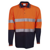 Long Sleeve Reflective Safety T-Shirt