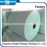Medium Weight Coated High Glossy Couche Printing Paper in Roll