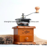 High Quality Portable Washable Ceramic Stainless Steel Burr Coffee Grinder Manual Hand Powered Mill