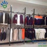 Hight Quality Wall Mounted Garment Store Display Metal Racks Design