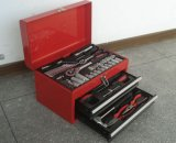 66 PCS Swiss Kraft Tool Kit Set in Metal Case