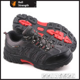 Industrial Leather Safety Shoes with Cement Rubber Sole (SN5160)