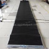 China Wholesale Double Coated Black PE Woven Tarpaulin